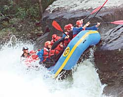 Description: Spring Rafting